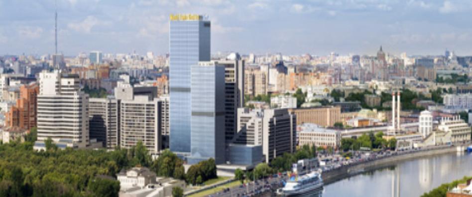 Многопрофильный бизнес-комплекс  (Краснопресненская набережная,12) Объем выполненых работ: 22 000м2