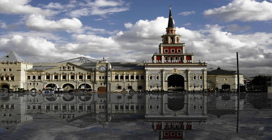 Казанский вокзал Объем выполненых работ: 18 000 м2