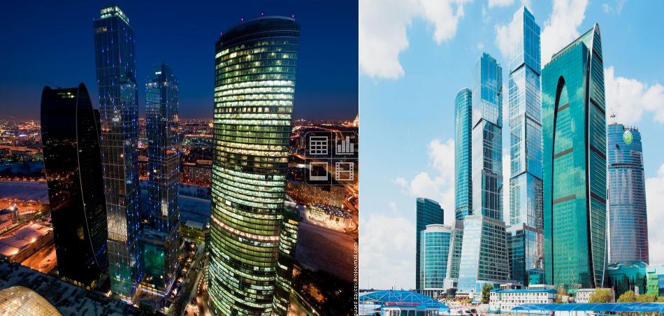 ДЦ Москва-Сити Башня Евразия Объем выполненых работ: 15 000 м2
